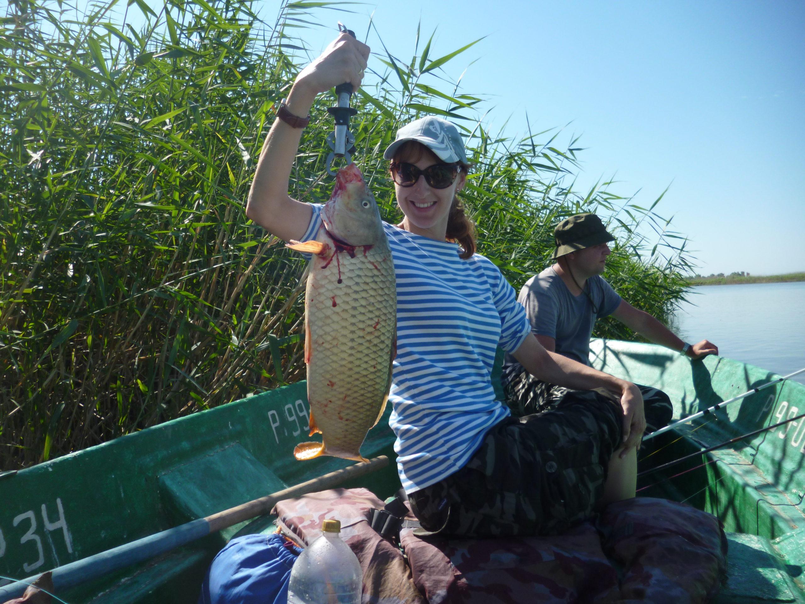 Рыбалка на Сазаньей Бухте