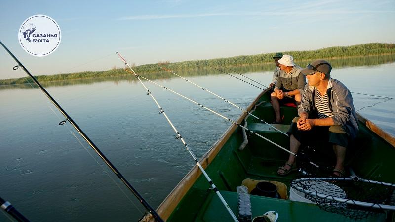 Рыбалка на раскатах в Астрахани