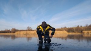 Первый лед рыбалка