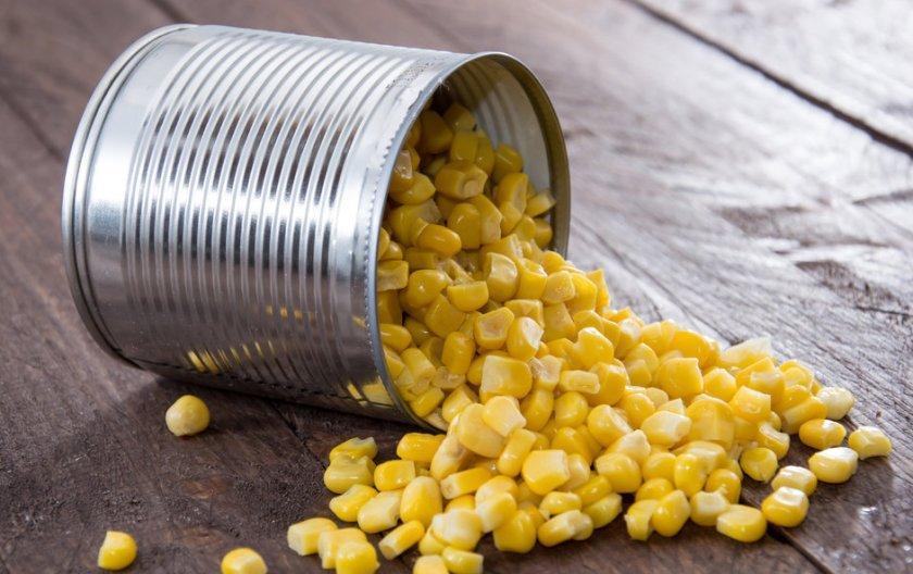 Ловля на кукурузу