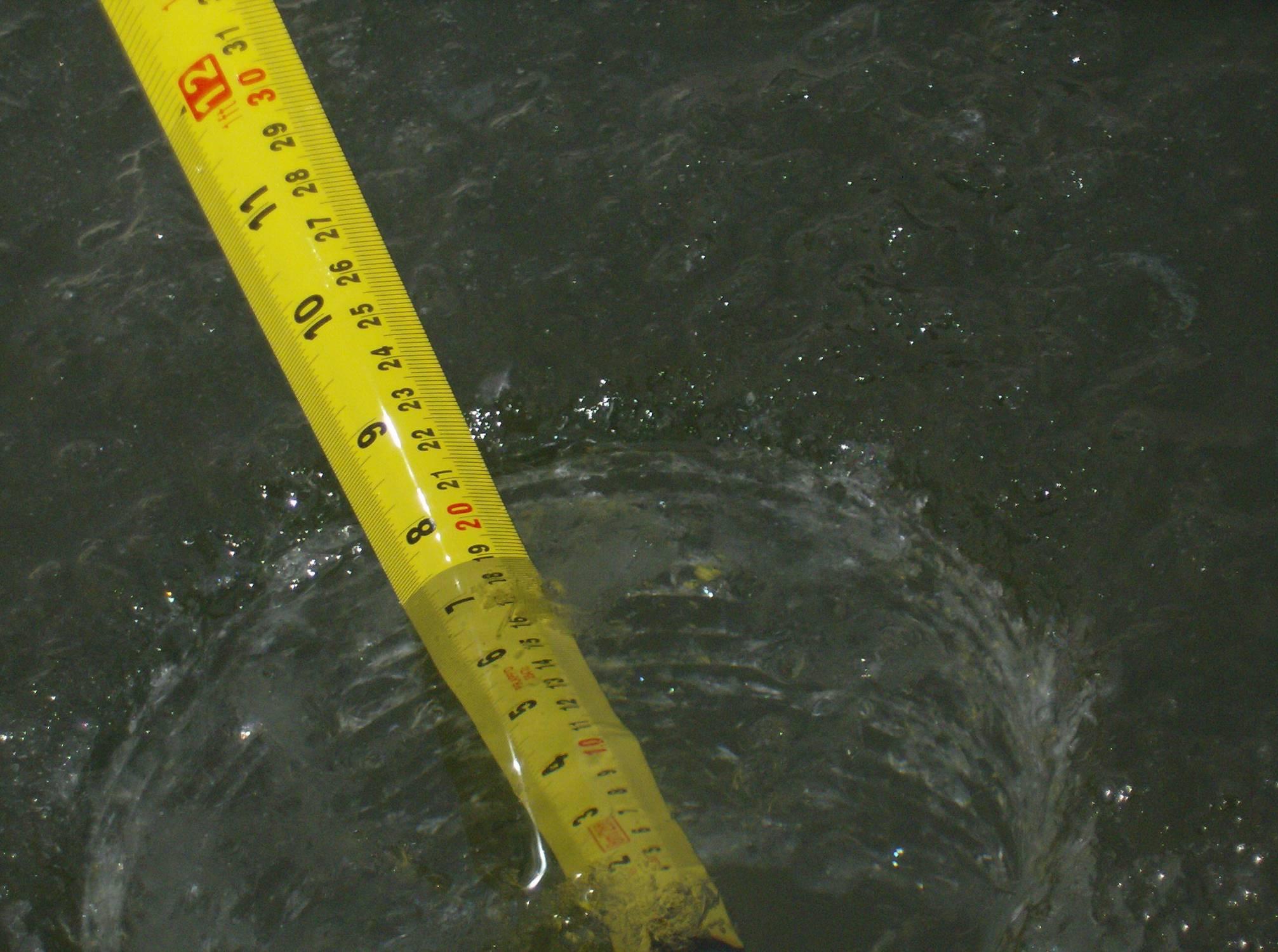 Измерение толщины льда