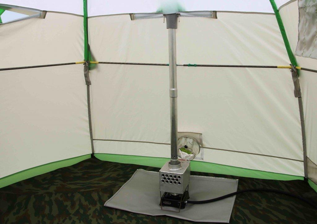 Теплообменник в палатке