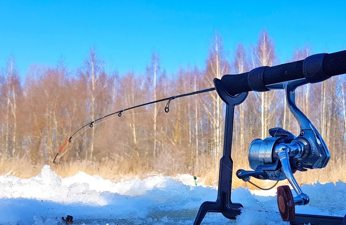 Фидерная ловля зимой