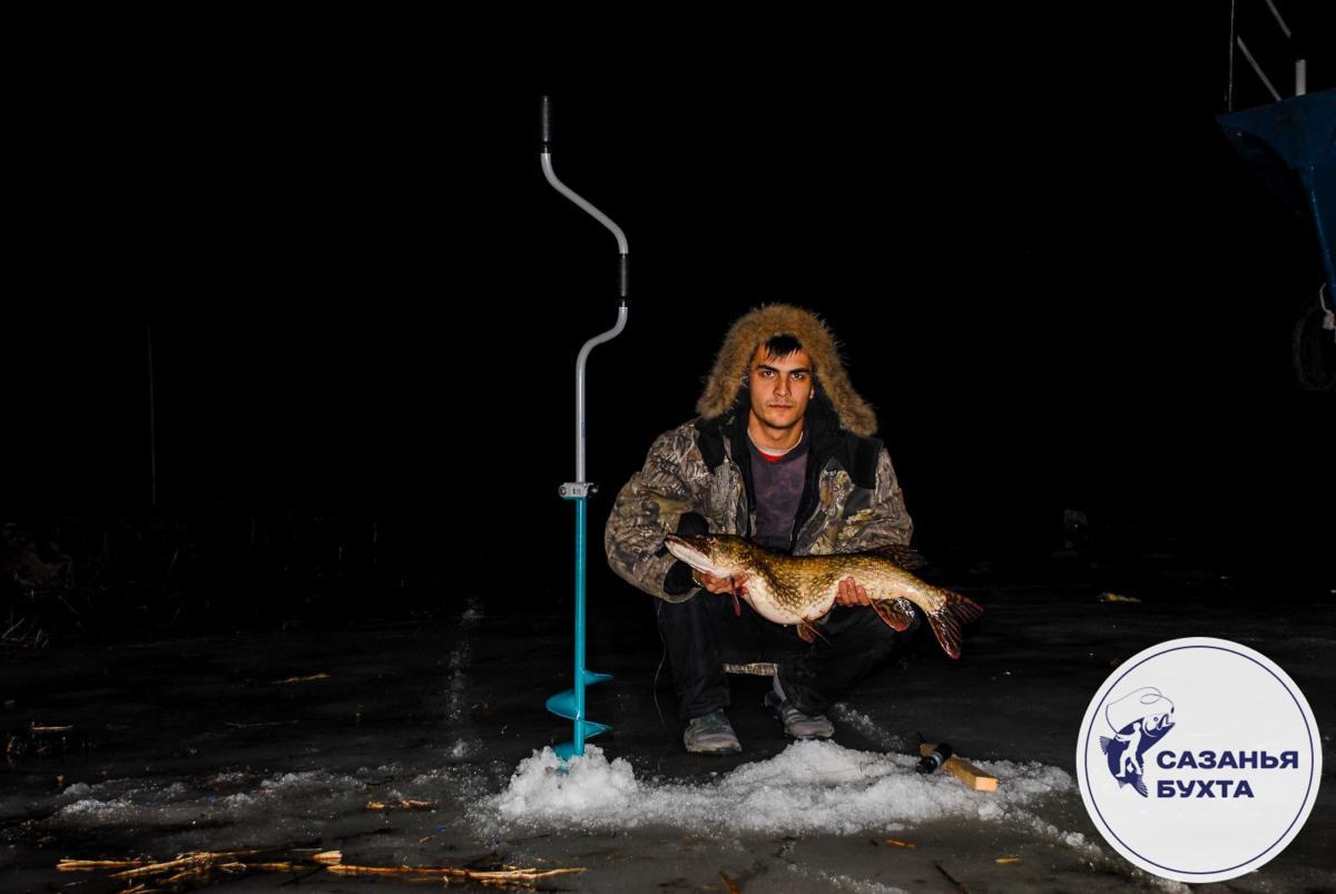 Рыбалка на щуку зимой