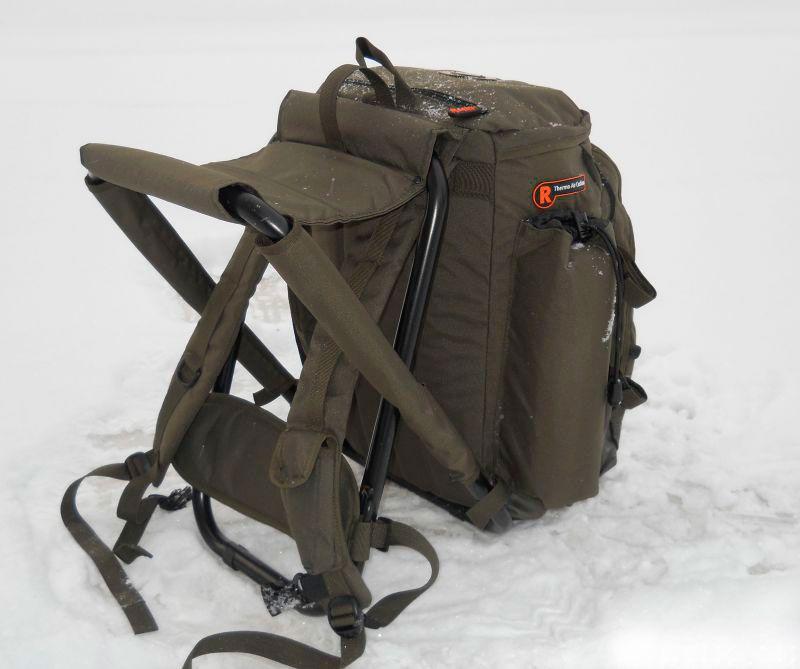Рюкзак-стул зимний