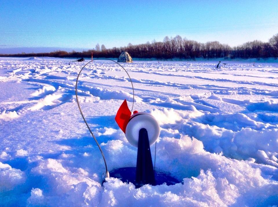 Рыбалка на жерлицу зимой