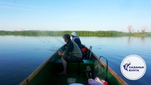 Утренняя рыбалка на раскатах