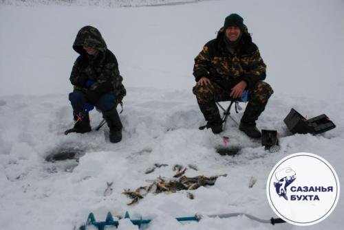 Рыбалка зимой на раскатах