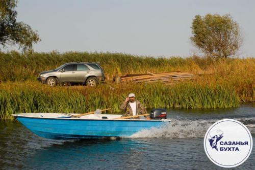 Осенняя рыбалка с лодки