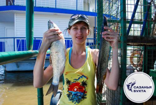 Летняя рыбалка на базе