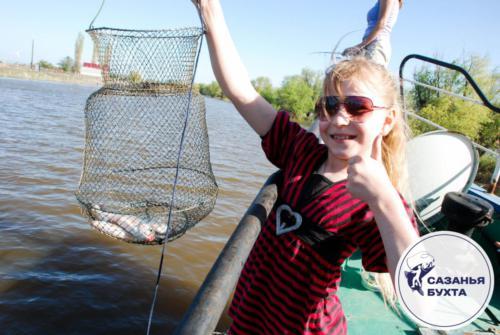 Улов астраханской рыбы