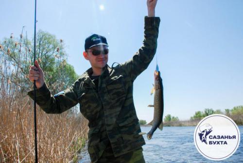Рыбалка на щуку с берега