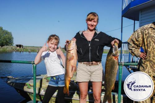 Рыбалка на сазанов в летний период