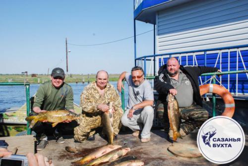 Отчет о рыбалке на сазанов