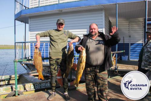 Рыбалка на сазанов
