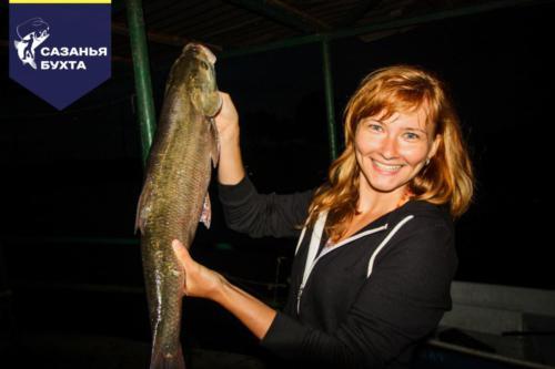 Ночная рыбалка на жереха