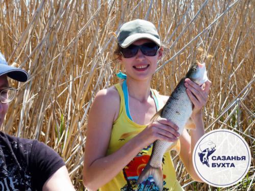 Летняя рыбалка на жереха