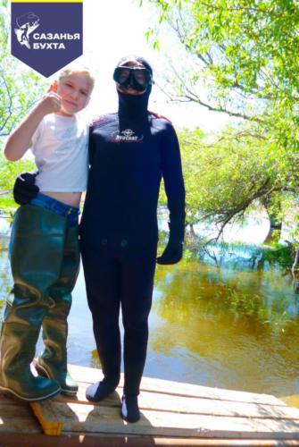Подводная охота на раскатах