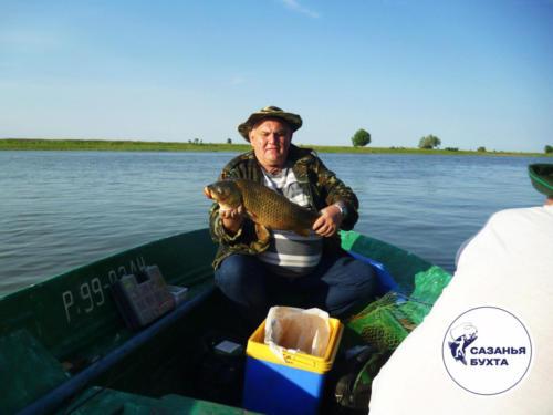 Ловля сазанов с лодки