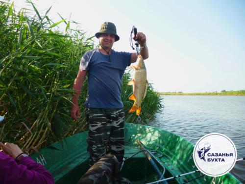 Рыбалка на сазанов с лодки