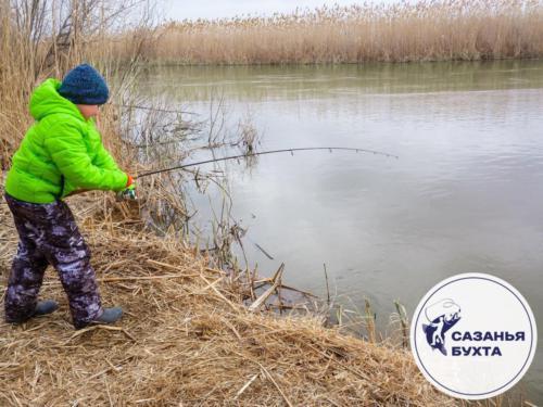 Рыбалка с детьми на раскатах