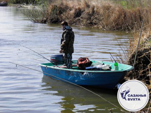 Рыбалка с лодки весной