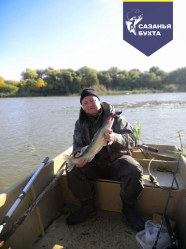 Ловля жереха с лодки