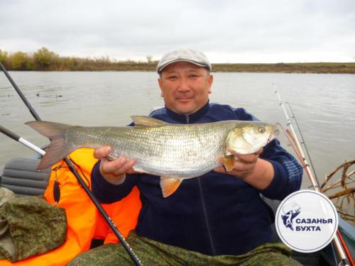 Рыбалка на жереха с лодки