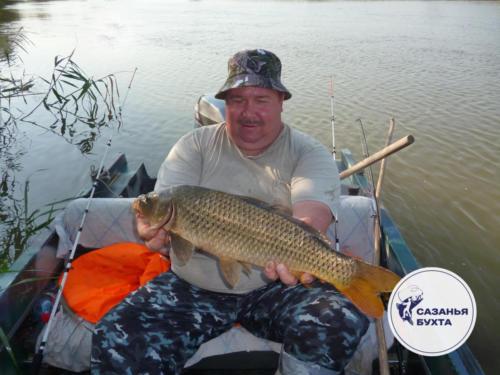 Рыбалка на крупных сазанов