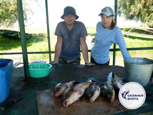 Отчет с рыбалки на сазанов