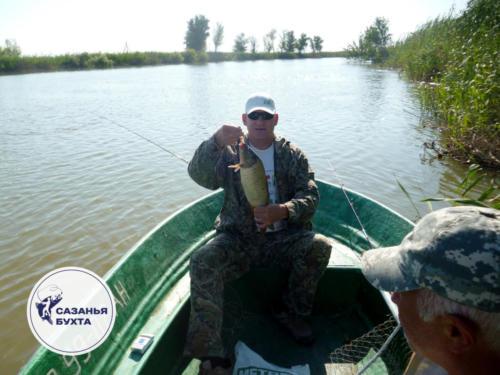Рыбалка на сазана в Астраханских водоемах