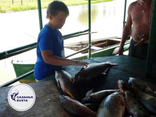 Трофейная добыча рыбаков