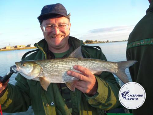 Удачная рыбалка на жереха