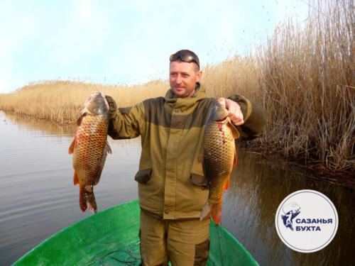 Рыбалка на сазанов осенью