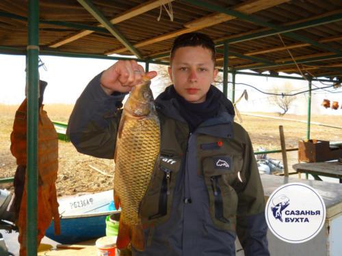 Осенняя рыбалка на сазана