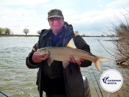 Успешная рыбалка на жереха