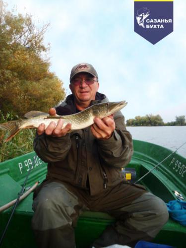 Рыбалка на щуку с лодки