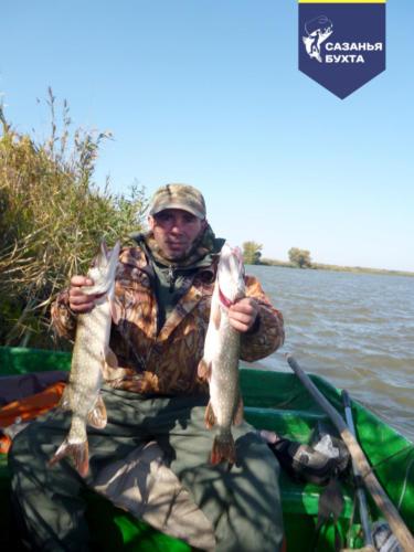 Рыбалка на щук с лодки