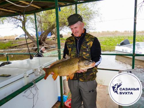 Удачная рыбалка на сазана